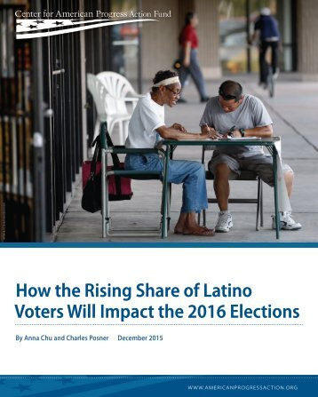 How the Rising Share of Latino Voters Will Impact the 2016 Elections