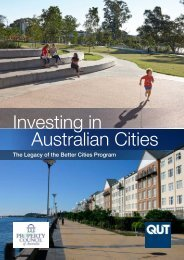 Investing in Australian Cities