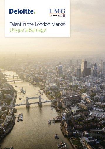 Talent in the London Market Unique advantage