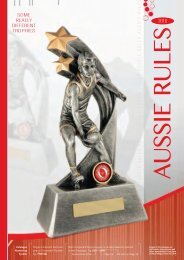 Some Really Different Trophies - Aussie Rules 2016