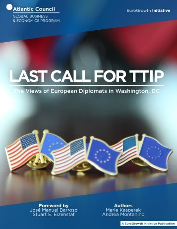 LAST CALL FOR TTIP