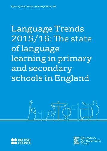 learning in primary and secondary schools in England
