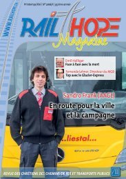 RailHope Magazin 01/2016 FR