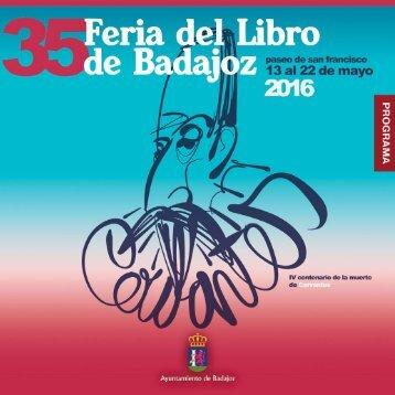 XXXV FERIA DEL LIBRO DE BADAJOZ