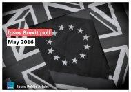 Ipsos Brexit poll May 2016