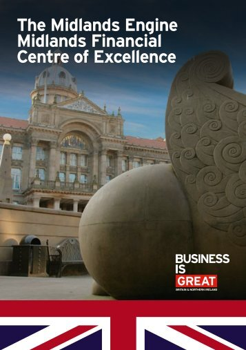 The Midlands Engine Midlands Financial Centre of Excellence