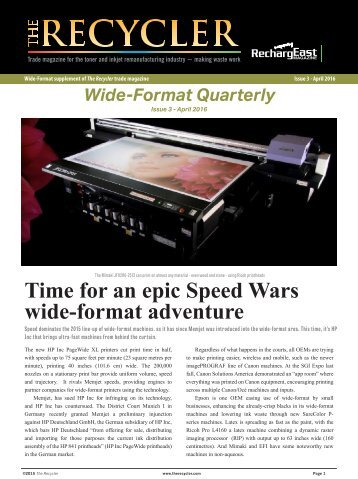 Wide Format news 2/2016