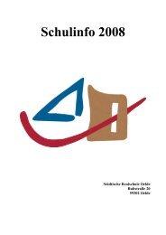Schulinfo 2008 - Städtische Realschule Oelde