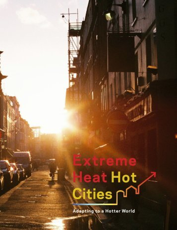 Extreme Heat Hot Cities Adapting to a Hotter World