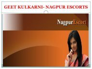 Looking Escort in Nagpur?