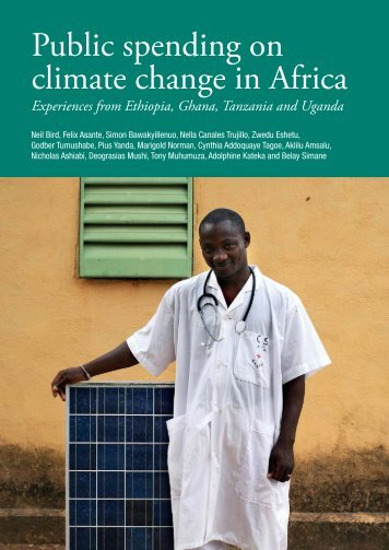 Public spending on climate change in Africa