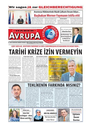 EUROPA JOURNAL - HABER AVRUPA MAI2016