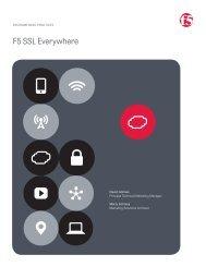 F5 SSL Everywhere