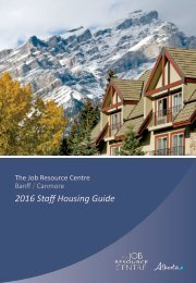 2016 Staff Housing Guide