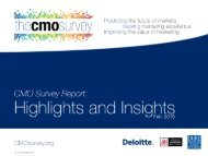 About The CMO Survey