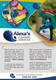 Alexas Cleaning Services