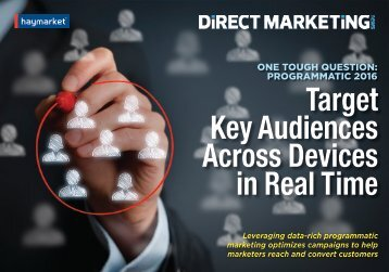 Target Key Audiences Across Devices in Real Time