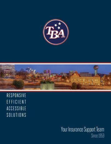 TBA Brochure