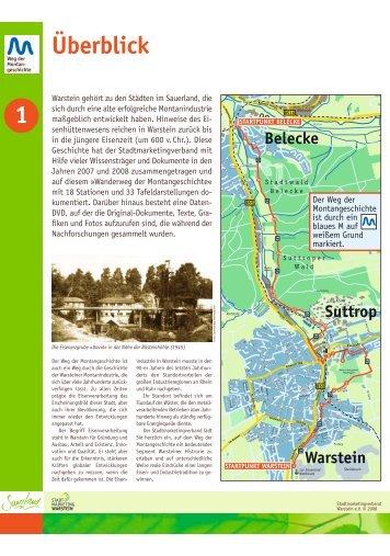 Belecke - Warsteiner Weg der Montangeschichte