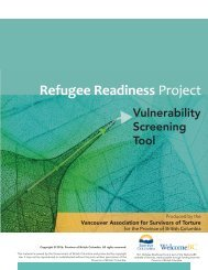 Refugee Readiness Project