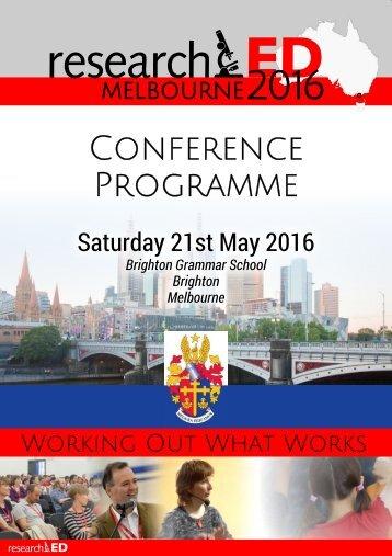 MELBOURNE2016