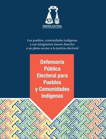 Pueblos y Comunidades Indígenas