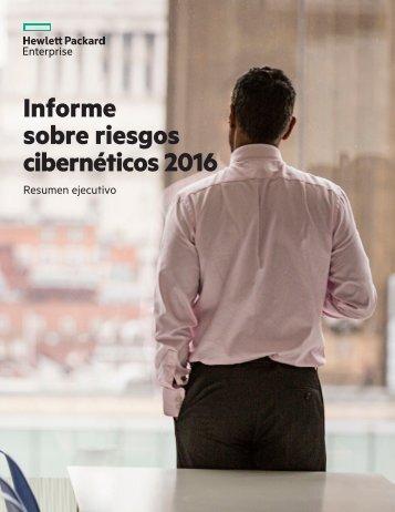 Informe sobre riesgos cibernéticos 2016