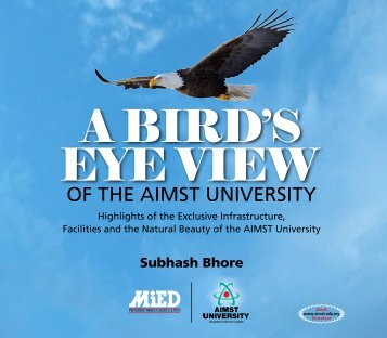 A BIRD'S EYE VIEW OF THE AIMST UNIVERSITY