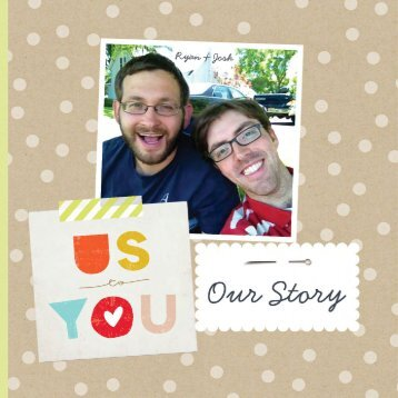 Ryan and Josh Adopt: Our Story Photo Book