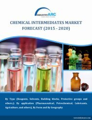 Linear Alkyl benzene, a chemical intermediate having a market size of around $180.33 million in 2013 globally and is constantly growing.