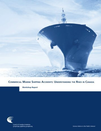 Commercial Marine Shipping Accidents Understanding Risks Canada