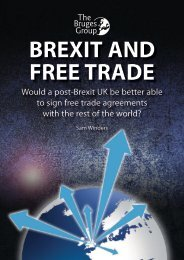 BREXIT AND FREE TRADE