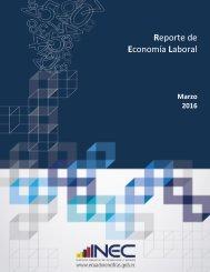 Reporte de Economía Laboral