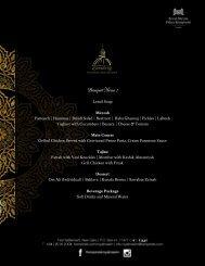 Banquet Ramadan Iftar