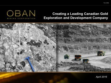Exploration and Development Company