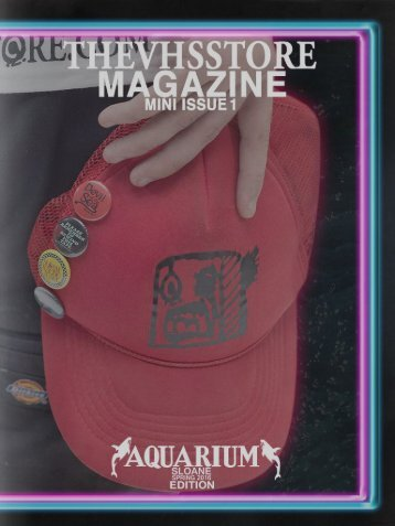 THEVHSSTORE MAGAZINE MINI ISSUE 1 (Aquarium Edition)