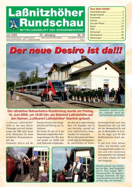 Marktgemeinde Lanitzhhe Gemeindenachrichten Oktober