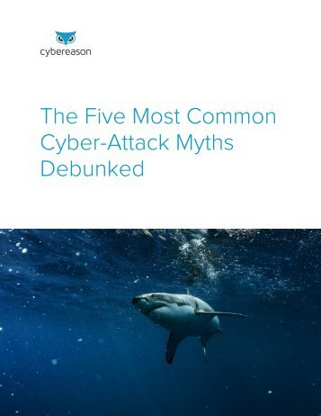 The Five Most Common Cyber-Attack Myths Debunked