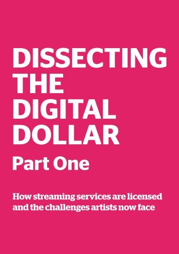 DISSECTING THE DIGITAL DOLLAR