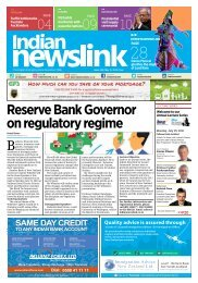 Indian Newslink May 15, 2016 Digital Edition