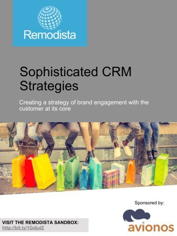 Sophisticated CRM Strategies