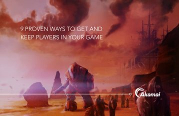 9 PROVEN WAYS TO GET AND KEEP PLAYERS IN YOUR GAME