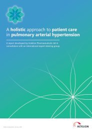 A holistic approach to patient care in pulmonary arterial hypertension