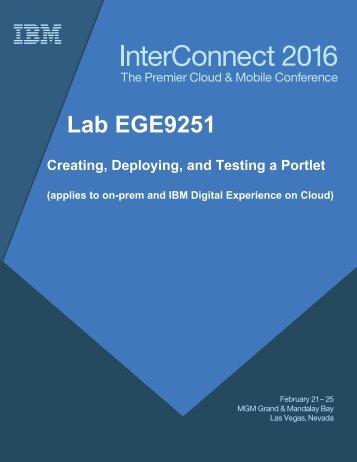 Lab EGE9251