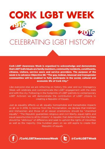 CORK LGBT WEEK