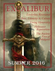 EXCALIBUR SUMMER 2016