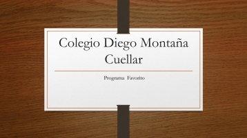 Colegio Diego Montaña Cuellar  sarie favorita