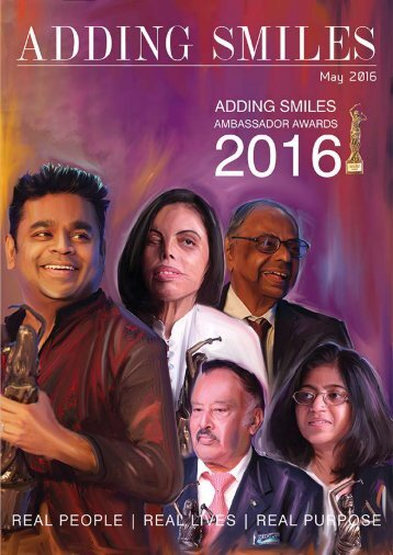 Adding Smiles May - 2016