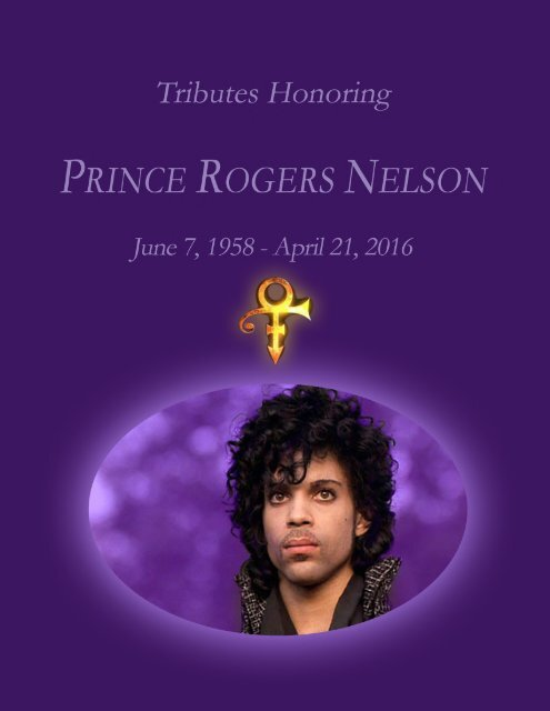 Prince Tributes Worldwide - Photo Gallery