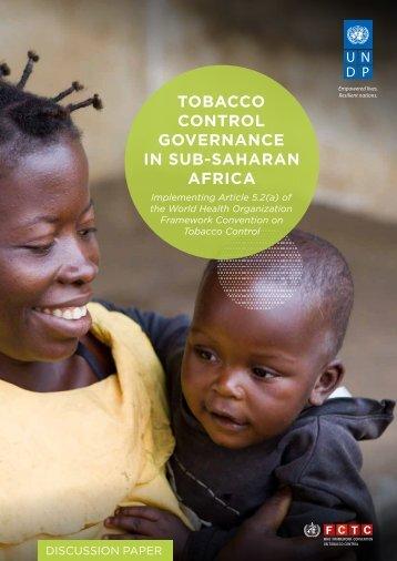 GOVERNANCE IN SUB-SAHARAN AFRICA